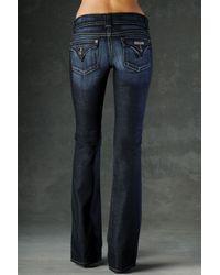 Hudson Jeans - Blue Supermodel Bootcut Stretch Jeans Elm Long - Lyst