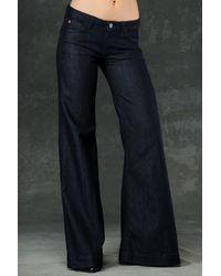 Hudson Jeans | Blue Gwen Wide Leg | Lyst