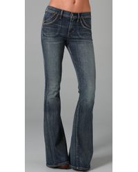 Citizens of Humanity - Blue Super Flare Jeans - Lyst