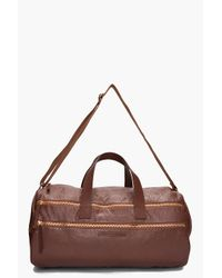 Marc By Marc Jacobs   Brown Leather Duffle Bag for Men   Lyst