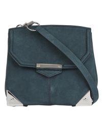 Alexander Wang | Green Marion Suede Shoulder Bag | Lyst