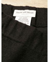 Dries Van Noten - Black Mens Presley Pants for Men - Lyst