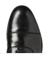 Jimmy Choo | Black Draycott Leather Oxford Shoes for Men | Lyst
