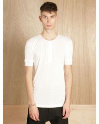 Merz B. Schwanen | White Mens Worker Shirt for Men | Lyst