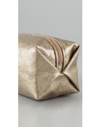 Juicy Couture - Metallic Glitter Cosmetic Case - Lyst