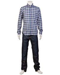 GANT   Blue The Hugger Shirt for Men   Lyst
