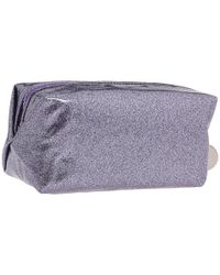 Juicy Couture - Purple Glitter Small Cosmetic Bag - Lyst