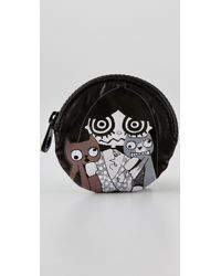 Marc By Marc Jacobs - Black Miss Marc Packables Head Case Coin Purse - Lyst