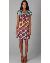 Nanette Lepore   Multicolor La Boheme Silk Dress   Lyst