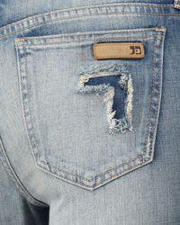 Joe's Jeans | Blue Visionaire Bridgette Boot-cut Jeans | Lyst