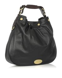 Mulberry | Black Mitzy Leather Hobo | Lyst