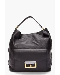 Marc By Marc Jacobs | Black Bianca Front Pocket Hobo | Lyst