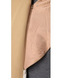 3.1 Phillip Lim - Natural Scarf Coat - Lyst