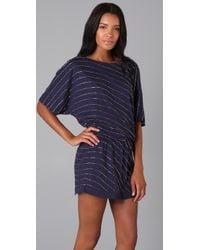 Beyond Vintage - Blue Beaded Dress - Lyst