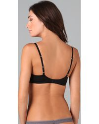 Calvin Klein | Black Naked Glamour Wireless Contour Bra | Lyst