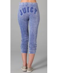 Juicy Couture - Blue Old School Breezy Sweatpants - Lyst