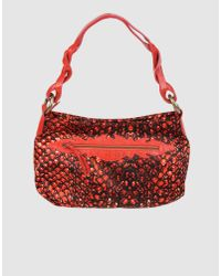 Just Cavalli | Red Medium Fabric Bag | Lyst