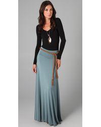 Rachel Pally - Blue Full Maxi Skirt - Lyst