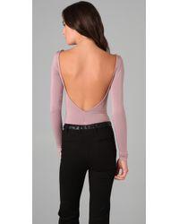 Rachel Pally - Pink Jersey Bodysuit - Lyst