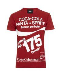 Dolce & Gabbana | Red Coca Cola Fanta Sprite T-shirt for Men | Lyst