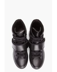 Givenchy - Black Strap Sneakers for Men - Lyst