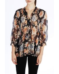 Joie | Multicolor Coralee Silk Blouse | Lyst