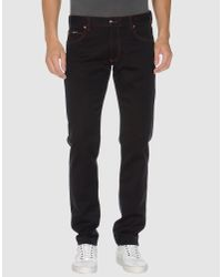 Armani | Black Casual Pants for Men | Lyst
