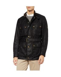 Belstaff | Black Roadmaster Jacket for Men | Lyst