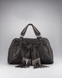 Christian Louboutin | Black Fiocchito Large Bag | Lyst