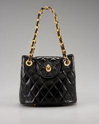 Eric Javits | Black Mini Quilted Shoulder Bag | Lyst