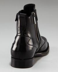Ferragamo | Black Cyrano Wing-tip Boot for Men | Lyst