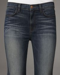 J Brand - Blue Kiki Lotus Bell-bottom Jeans - Lyst