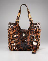 Jimmy Choo | Multicolor Bree Leopard-print Tote | Lyst