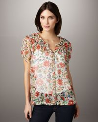 Joie | Red Mamba Daisy Bristol Top | Lyst