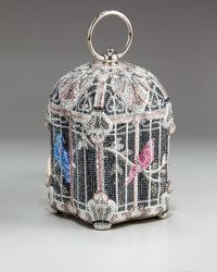 Judith Leiber - Multicolor Nightingale Birdcage Clutch - Lyst