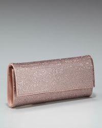 Judith Leiber | Pink Ritz Fizz Clutch, Rose | Lyst