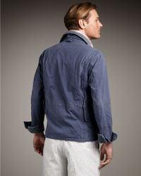 Polo Ralph Lauren - Blue Shelter Canvas Jacket for Men - Lyst