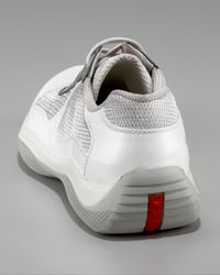 Prada - Americas Cup Sneaker, White for Men - Lyst