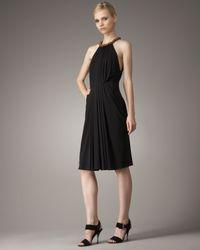 Robert Rodriguez | Black Jennifer Bead-neck Dress | Lyst