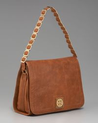 Tory Burch | Brown Louisa Shoulder Bag | Lyst