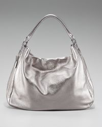 Tory Burch | Kellan Metallic Hobo | Lyst