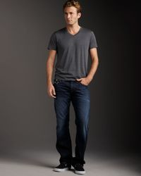 True Religion | Blue Ricky Bronco Camo-pocket Jeans for Men | Lyst