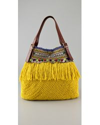 Elliot Mann - Yellow Indie Bag - Lyst