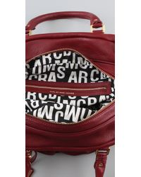Marc By Marc Jacobs | Red Classic Q Groovee Satchel | Lyst