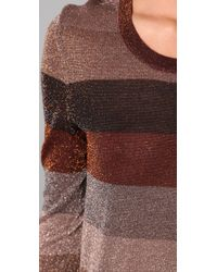 Marc By Marc Jacobs - Red Camino Lurex Sweater - Lyst