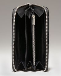 Dior | Black Voyageur Cannage Wallet | Lyst