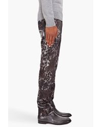 Paul Smith | Multicolor Leopard Print Trousers for Men | Lyst