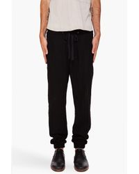 3.1 Phillip Lim | Black Zip Lounge Pants for Men | Lyst