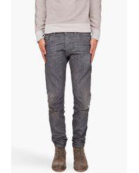 Diesel Black Gold | Gray Superbia Jeans for Men | Lyst