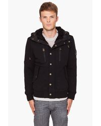 DIESEL | Black Wugi Jacket for Men | Lyst